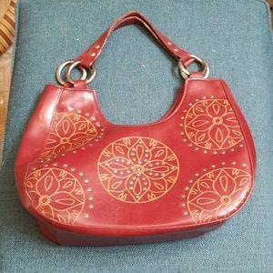 Bisou bisou leather purse
